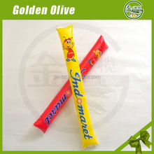 Hand clappers inflatable cheering sticks hot selling