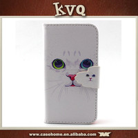 factory OEM printing wallet flip leather case for samsung galaxy s3 case