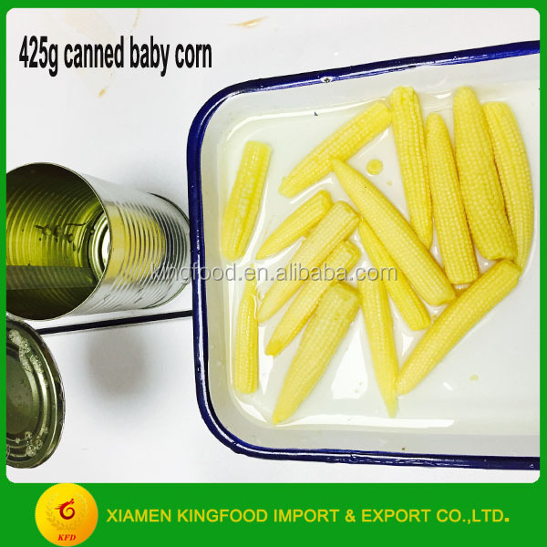 Whole Canned Baby Corn 425g in Brine