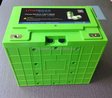 26650 lifepo4 deep cycle rv/marine battery 12v 100ah lithium ion solar system battery pack