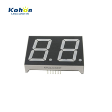 Common cathode blue color replacing LCD display DC 2.8V - 3.4V 1.2 inch large 7 segment led digital display