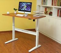 front office equipment sit stand computer desk with BIFMA certification