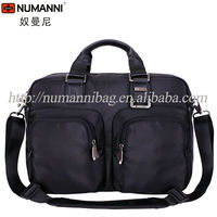 2014 hot wholesale new style waterproof durable nylon business men laptop briefcase