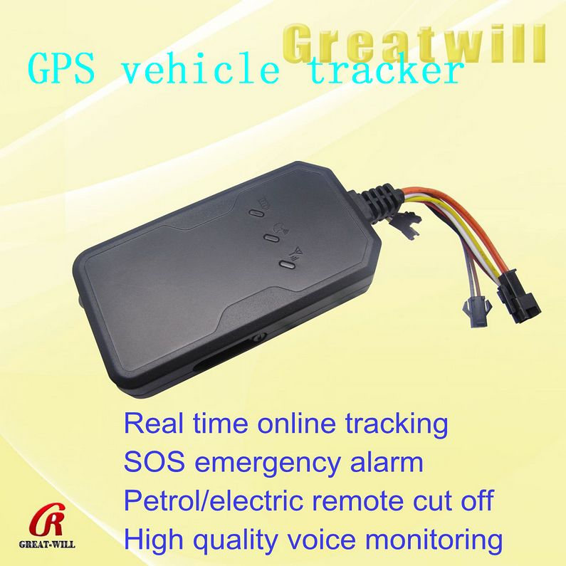 Multifunctional Vehicle GPS Tracking Device (Black) gps tracker wifi bluetooth