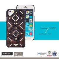 natural wood back cover mobile phone hard case shell bumper for iphone 6,hard case cover for iphone 6 6s