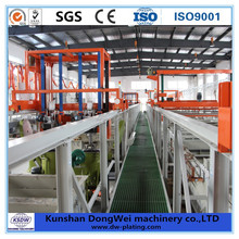 Automatic metal and plastic electroplating factory