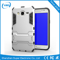 2 in1 Shockproof Armor PC+TPU Back Shell Stand Case for Samsung J5 J7 Cover Skin