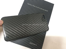 carbon fiber cell phone cover 100% carbon material