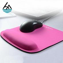 Wholesale customised cheap blank mini laptop mouse pad with wrist support