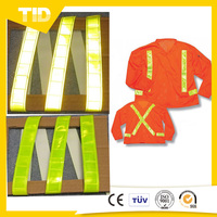 Fluorescent Yellow Green Reflective Material for Making Safety Vest