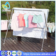 large stable outdoor clothes drying rack with towel rack
