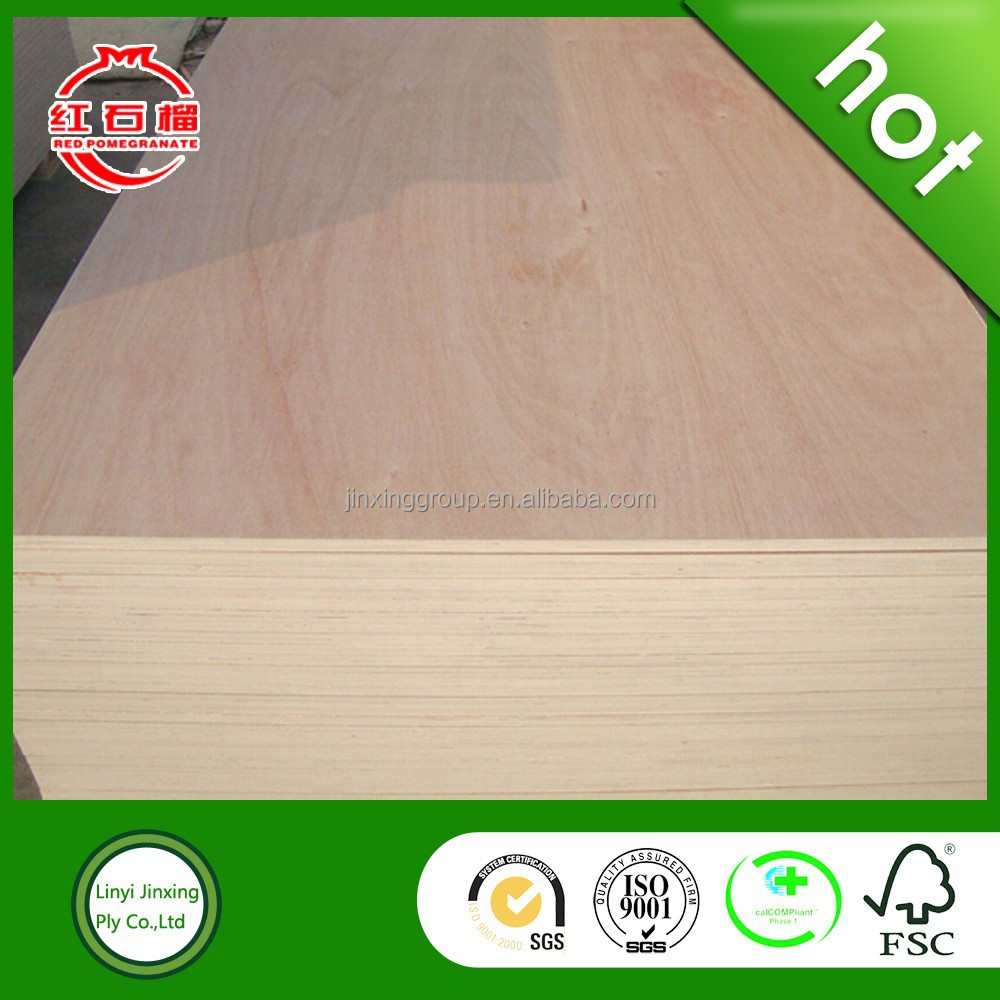 Okoume plywood poplar core with competive price for sale