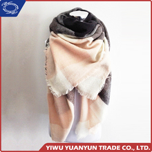 Modern style different types OEM design thick warm winter scarf directly sale