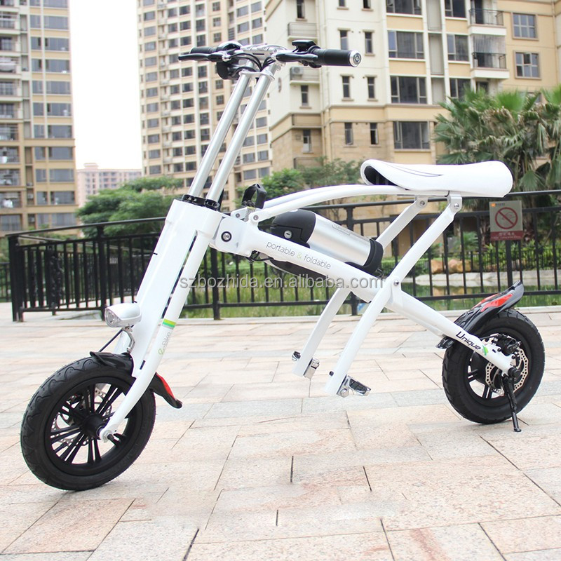 2017 trending products mini portable foldable e bike 250w electric bicycle