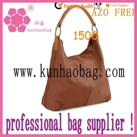 custom professional women's cheap leather hobo bags