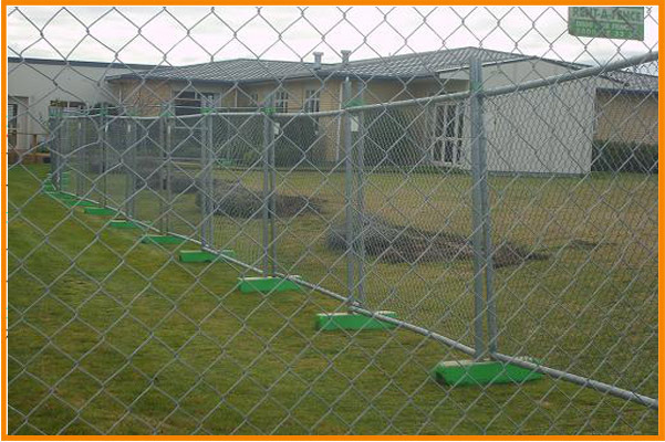 Cheap hot dipped galvanized temporary construction chain link fence panels hot sale