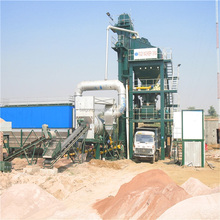 2017 china The price for 125 ton China manufacturer hot mix asphalt plant with India price