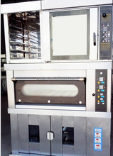 OEM CE Potatoes Baking Oven manufacturer bread oven, high quality heating wires bread baking luxury type deck oven