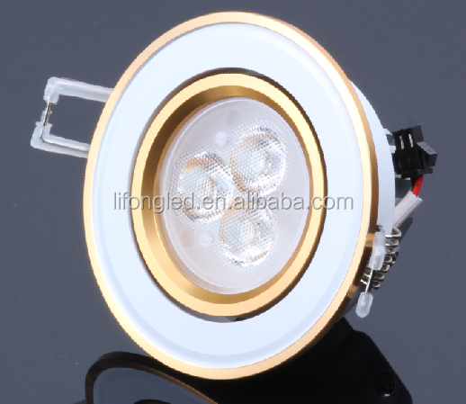 Shenzhen high power 3w CE ROHS 85-265V ceiling light modern