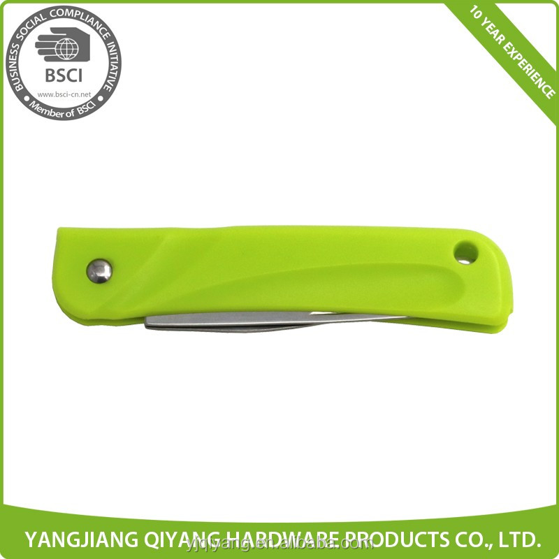 Plastic Handle Multi-purpose Folding Knife and Opener