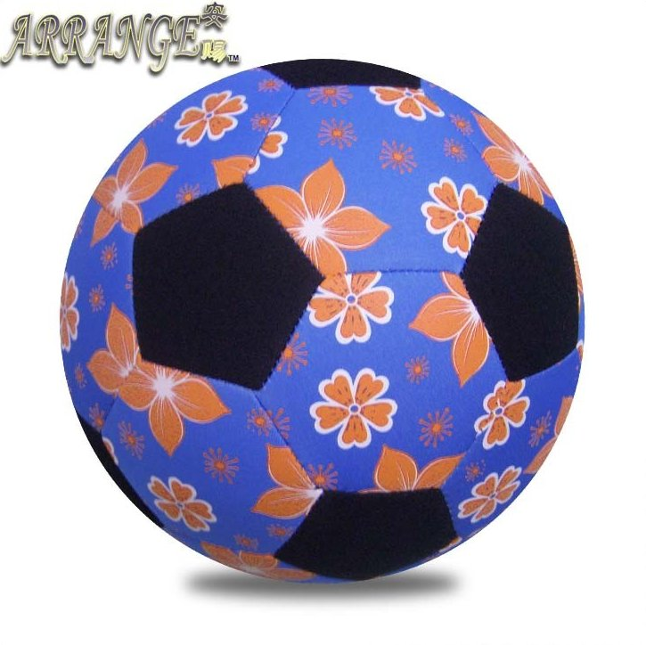 soft touch Officia size 5 JFFB043 light blue color SBR neoprene inflatable giant beach ball soccer gift american football