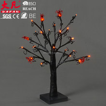 Halloween artificial led light decoration high quality tree lights