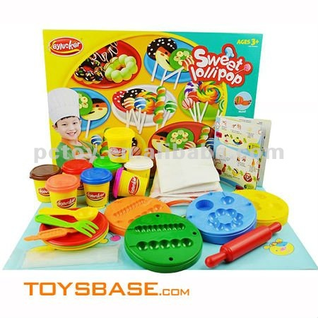New toys colorful playdough set