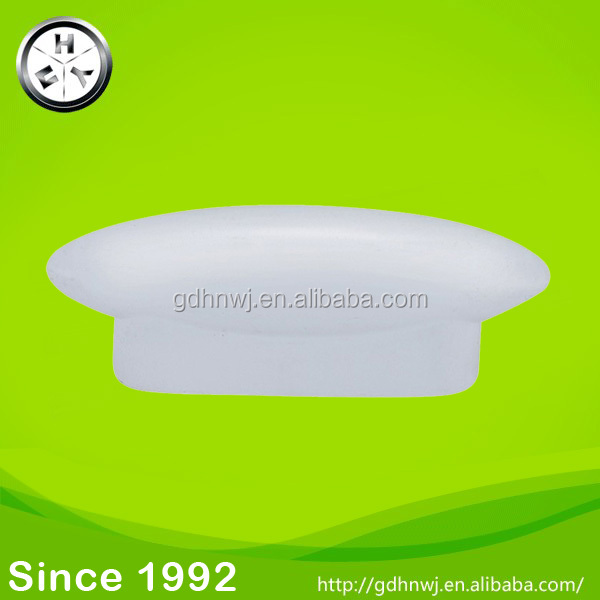 Factory price of PP white plastic drawer handle for kid room