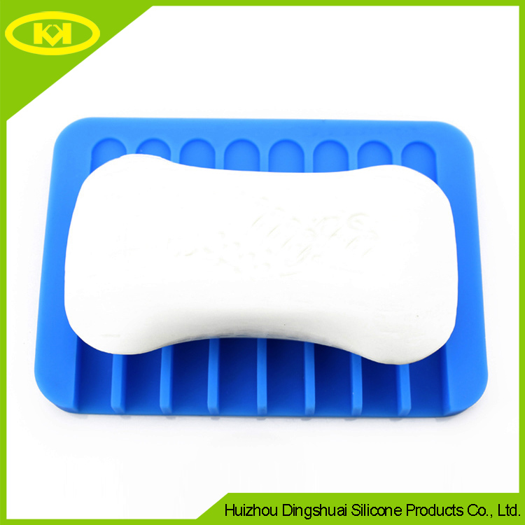 Green OEM Wall Soap Holder Sponge And Soap Holder Two Styles MOQ 1000 PS