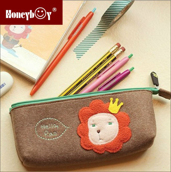 Promotional animal pencil pouch