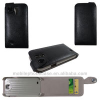 2013 samsung galaxy s4 folio hard shell mobile phone case with magnet