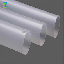 frosted polycarbonate tube, frosted plastic tube, frosted acrylic tube