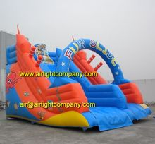 best selling factory price kids inflatable amusement park games large custom sizes inflatable water slide
