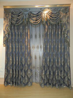 Elegant&beautiful ready made curtains
