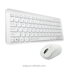 good look silent desktop white black USB interface optical short size kit wireless combo mouse combo keyboard for tablet