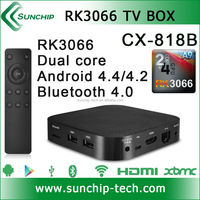 RK3066 android tv box 1.6GHz A9 bluetooth 4.0 best 1080P media player