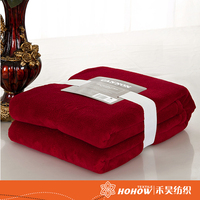 Latest hot selling 100% polyester flannel fleece blanket