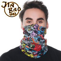 Custom Print Bandana Seamless Multifunctional Sports Bandanas Headwear