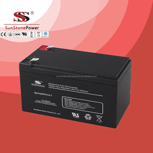 rechargeable sealed lead acid battery 12v 7ah UPS battery