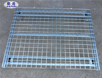 Cash Commodity zinc and steel Storage+cage used in Co-operative logistics Wire Mesh Pallet Cage
