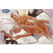 High Quality Abstract Sexy Nude Female Body Handmade Painting