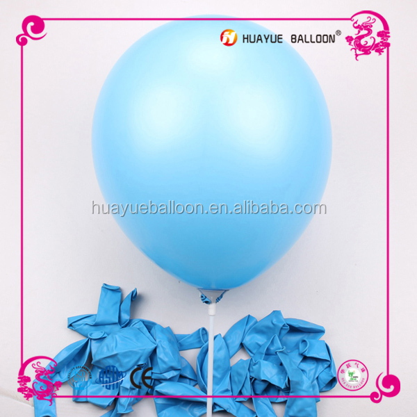 different size latex balloons wholesale