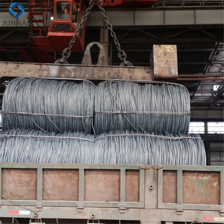 China tangshan steel wire rod coil spring wire rod