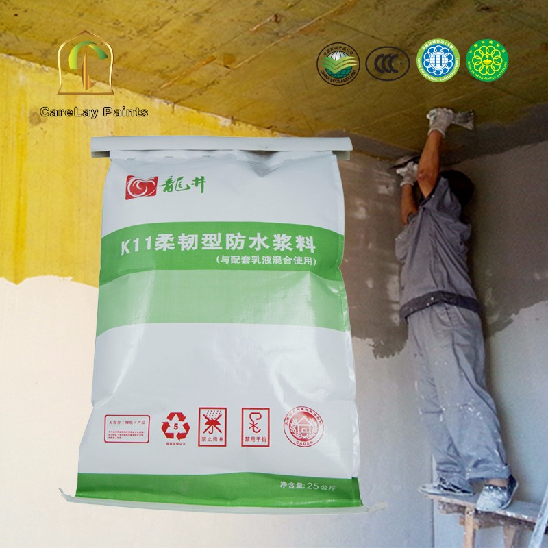 Single composition flexibility roof waterproof coating