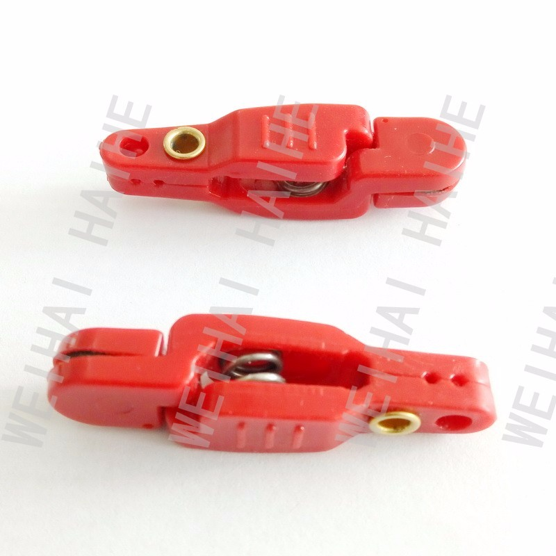 red Adjustable Downrigger Snapper Release Clips Trolling Planer Board release