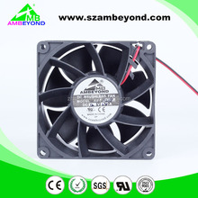 China manufacturer hvls indudtrial exhaust turbo fan axial cooling fan 92x92x38mm 12v 24v 48v