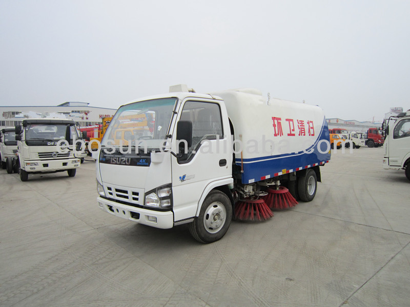 Small Vacuum Road Sweeper Truck on hot sale