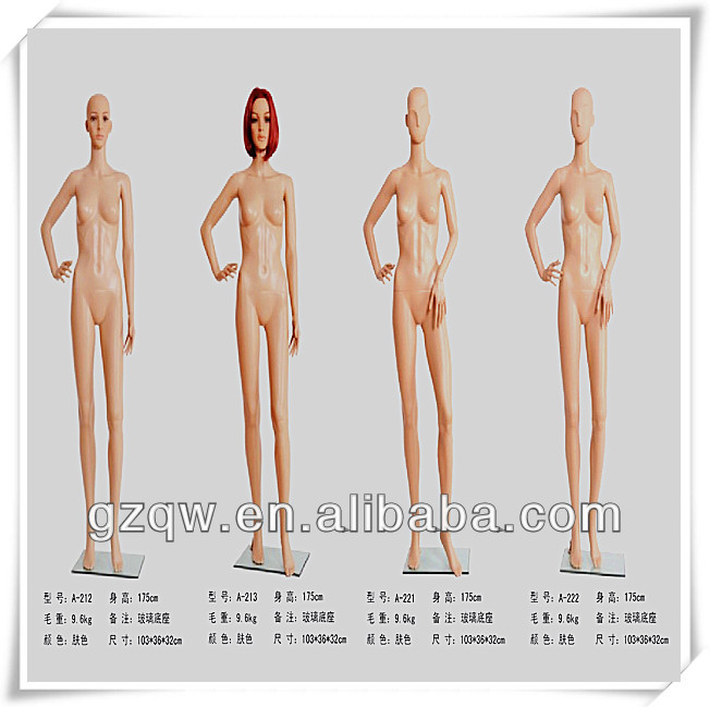 2014 Sex Mannequin Plastic Body For Sex Made In China