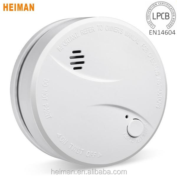 2016 hot sale factory price Battery operated system sensor smoke detector price/smoke detector motion sensor