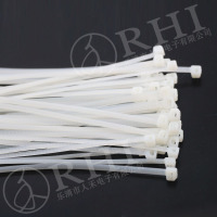 Natural color electrical cable tie plastic tie lock
